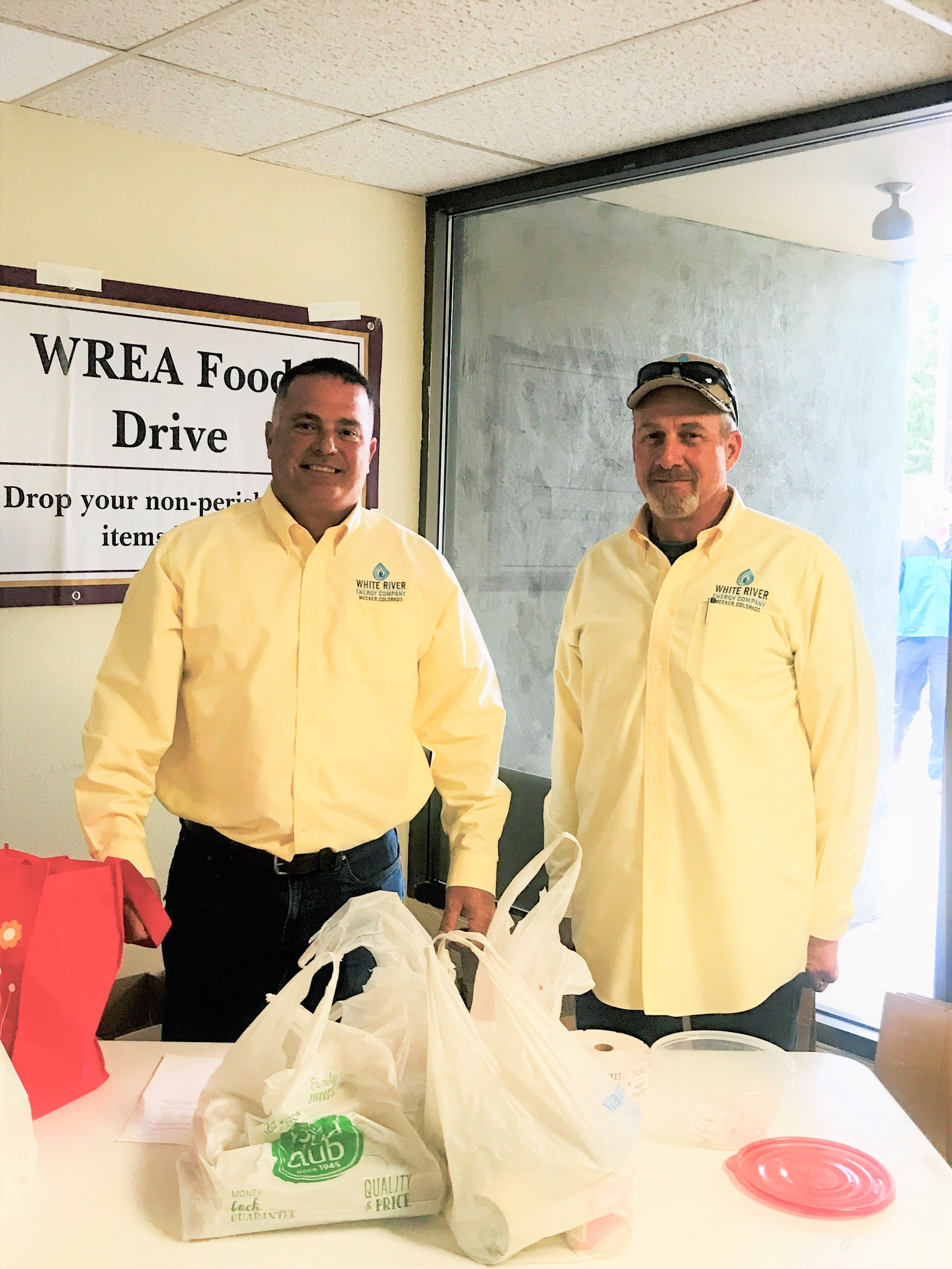 WR Energy food drive